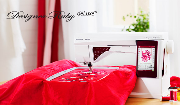 Ruby Deluxe Sewing and embroidery machine