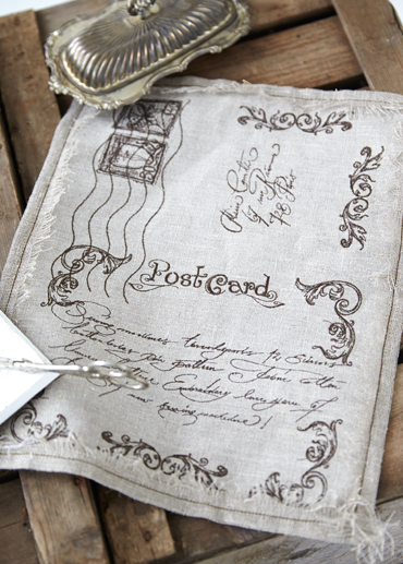 Vintage postcard husqvarna viking