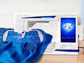 DESIGNER DIAMOND Royale™. Nuestra máquina de coser y bordar ... fdc21fe9e9d