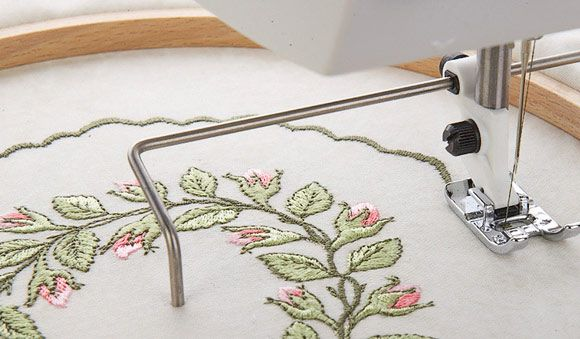 sewing machine circle attachment