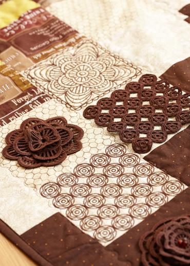 Husqvarna Viking Quilting Designs : Quilting with Crochet - HUSQVARNA VIKING?