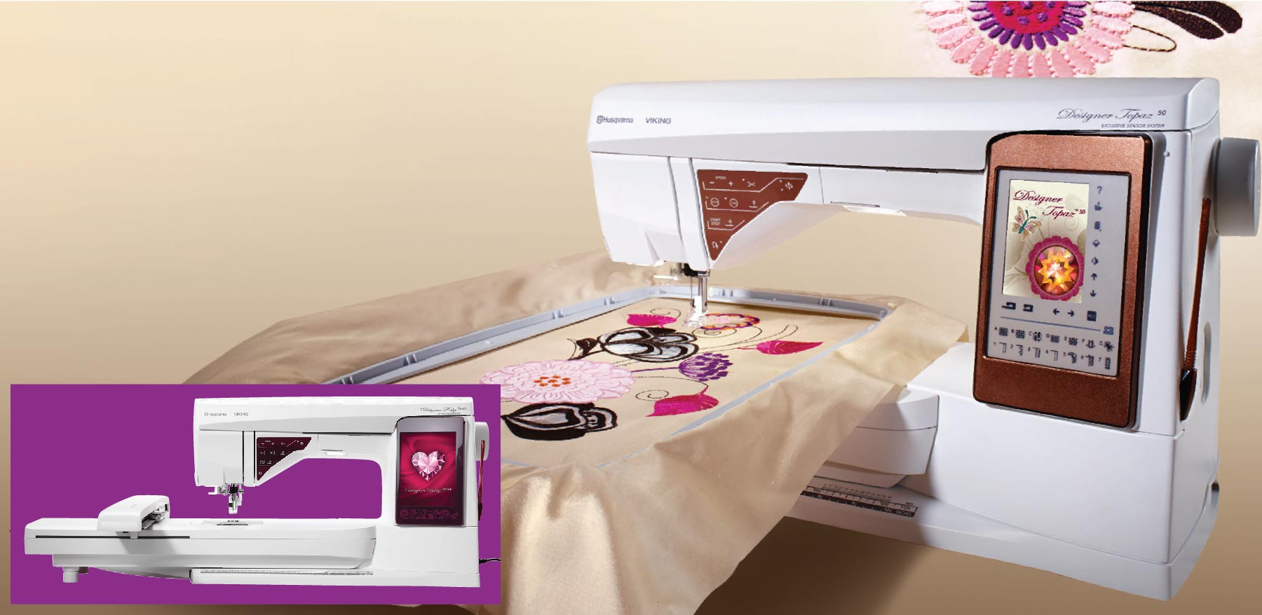 Creative World of Embroidery Promo