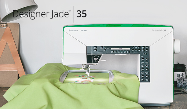 Live More Creatively With The New Husqvarna Viking Designer Jade