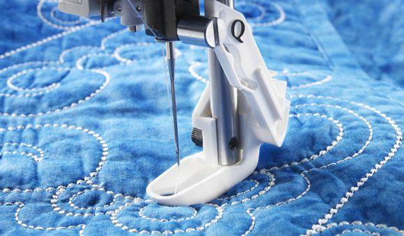 Sensor Q Foot - HUSQVARNA VIKING® : spring action quilting foot - Adamdwight.com