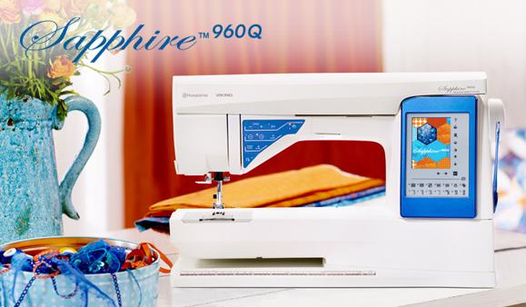 husqvarna viking sapphire sewing machine