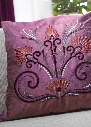 Thread velvet embroidery designs makaroka