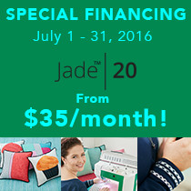 Special Financing on Jade™ 20