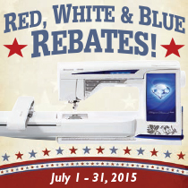 Red, White and Blue Rebates